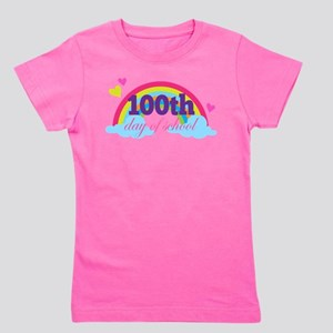 100th Day Of School Rainbow T-Shirt